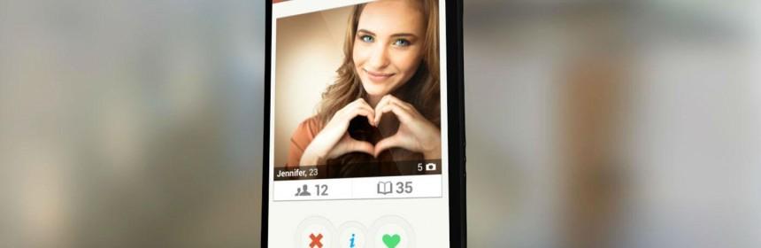 Tinder app is in opkomst
